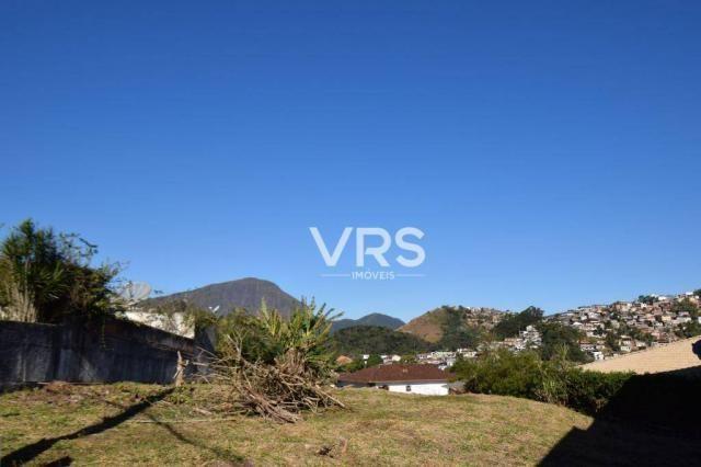 Terreno à venda, 840 m² por r$ 490.000 - golfe - teresópolis/rj