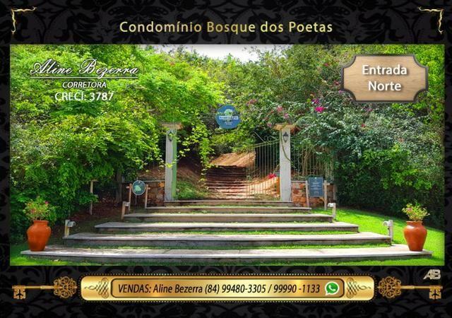 Oportunidade, lote no Bosque dos Poetas, 375m