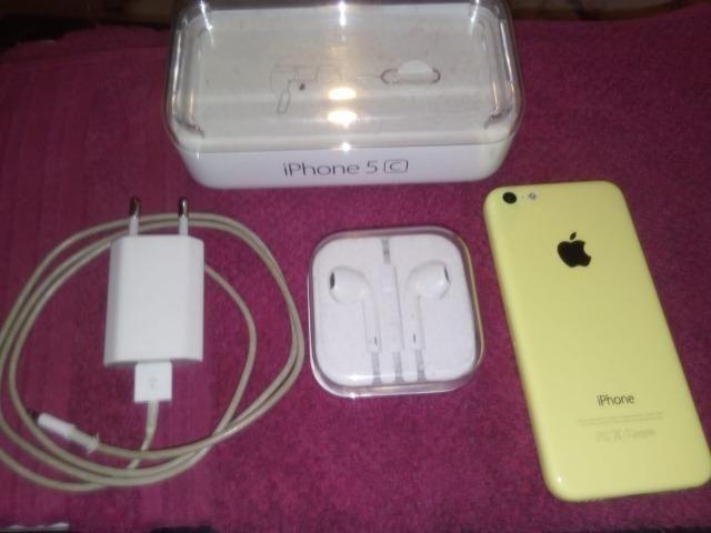 Iphone 5c 8g amarelo novíssimo sem risco algum