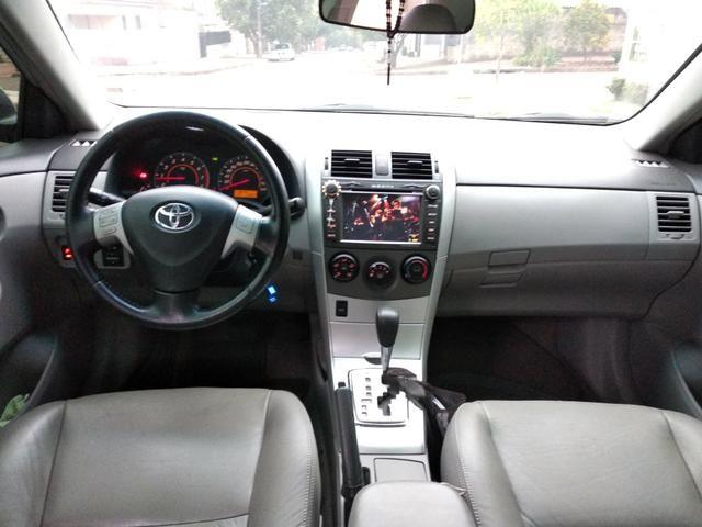 Corolla gli 2014 automático,couro, multimídia - Foto 4