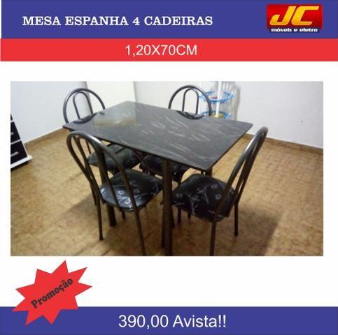 Mesa Espanha 4 cadeiras direto de fabrica