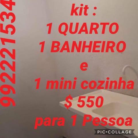 Alugo uma kit em sobradinho1 qd 03 - Foto 6