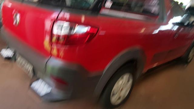 Fiat Strada Working 1.4 2015 Completa Ar Condicionado Placa A - Foto 4
