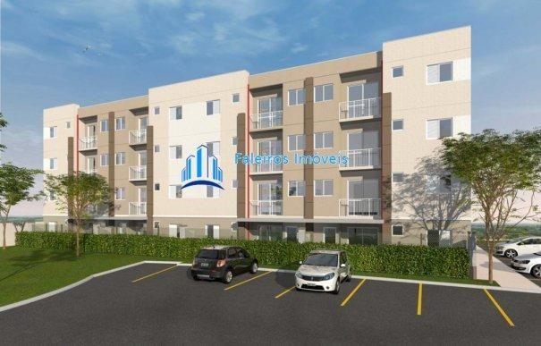 Apartamento 2 dormitórios com sacada e lazer completo MCMV - Apartamento em Lanç... - Foto 2