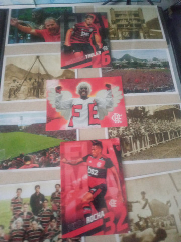 Figurinhas faltantes Flamengo 19/20