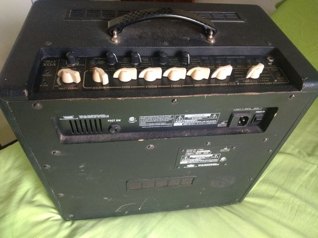 Baixei pra vender amplificador guitarra Vox vt80+ 120w de potência - Foto 5