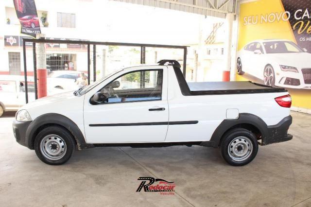 Fiat Strada Working 1.4 Branco - Foto 3