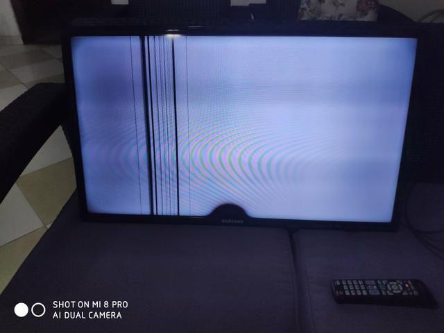 Tv Led Samsung 32 com defeito - Foto 4
