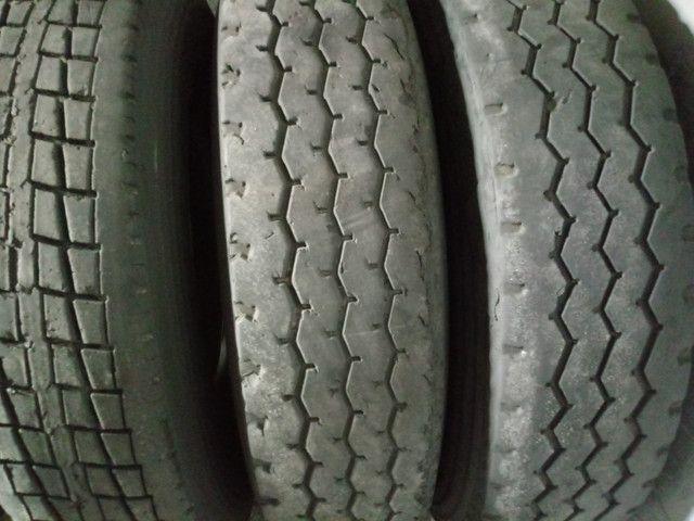Pneus Usados p/ Caminhão Caminhonete (225 65 R 17, 235 70 R 16) - Foto 7