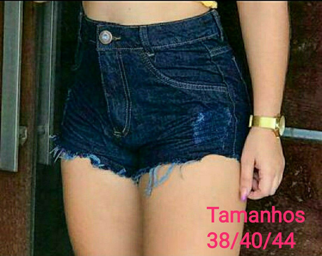 Shorts jeans 100%