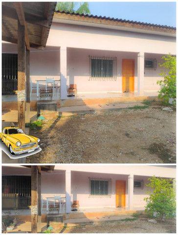 Vendo duas casas mesmo terreno Pimenta Bueno bairro seringal valor 270mil - Foto 6
