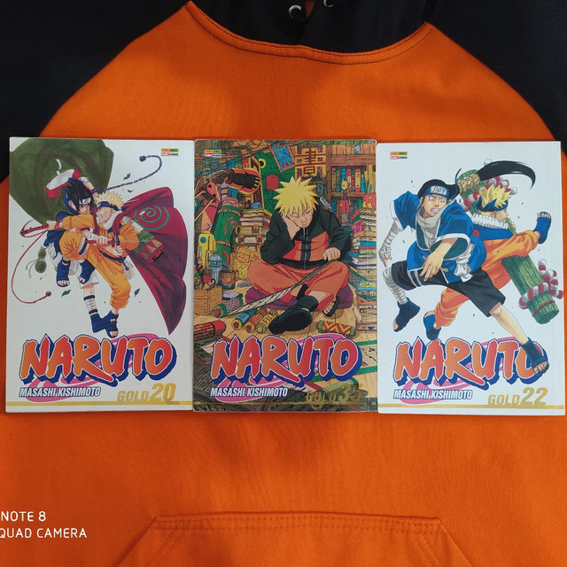 Diversos mangás de Naruto - Foto 2