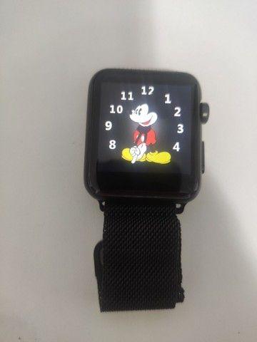 Smartwatch Iwo 42 mm + Brindes - Foto 5