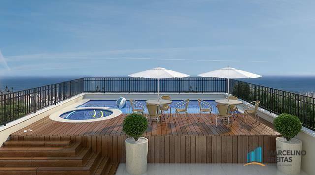Apartamento com 2 dormitórios à venda, 53 m² por R$ 360.684,20 - Jacarecanga - Fortaleza/C - Foto 11