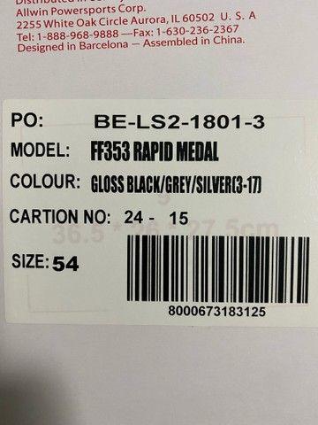Capacete Moto LS2 Rapid Medal  - Foto 6