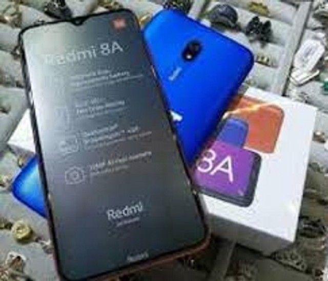Redmi 8A 64 GB Branco/Azul  - Foto 3