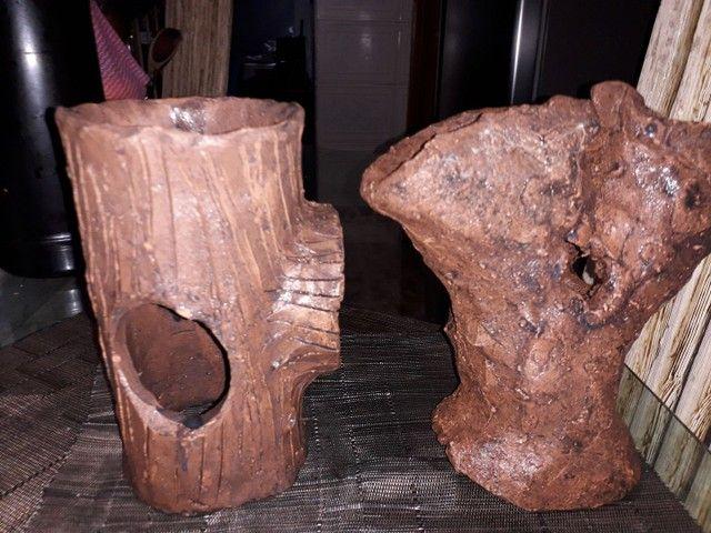 Enfeite tronco de aquário. - Foto 2