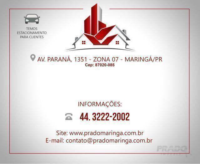 Box/Garagem para alugar por R$ 150/mês - Novo Centro - Maringá/PR