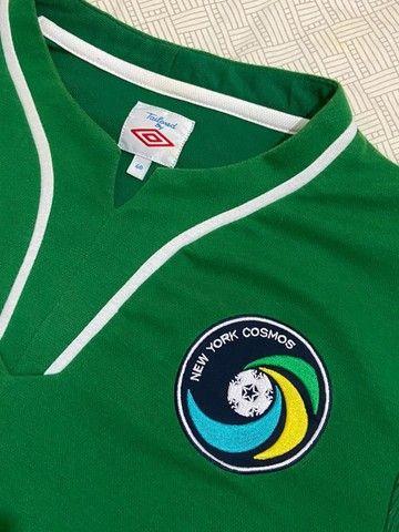 Camisa De Futebol New York Cosmos 2010/11 Umbro - Foto 2