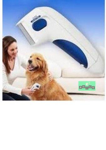Escova Elétrica Anti Pulgas Carrapatos Piolho P Cães E Gato - Foto 2