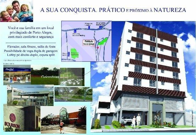 Apartamento à venda com 2 dormitórios em Vila ipiranga, Porto alegre cod:193731