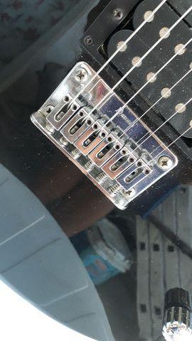 Guitarra ibanez gax 30 regulada com trastes novos - Foto 3