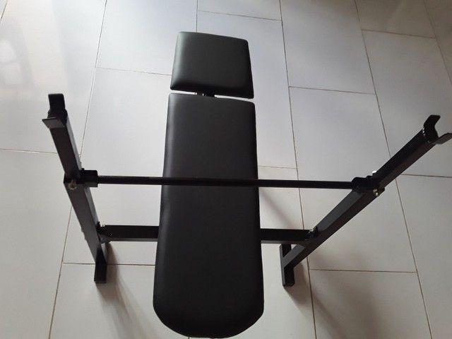 Aparelho De Musculação Mesa De Supino  - Foto 6