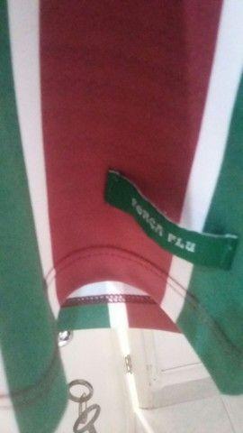 Camisa Fluminense Força Flu tamanho GG - Foto 4