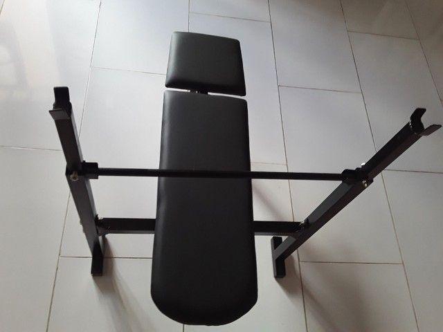 Aparelho De Musculação Mesa De Supino  - Foto 5