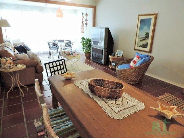 Apartamento na praia, Vista mar, 3 dormitórios, Lazer, 1 vaga, Astúrias, Guarujá. - Foto 3