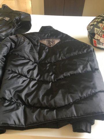 Capacete +capa de chuva da Alba+ bota de borracha n? 42+ jaqueta GGG