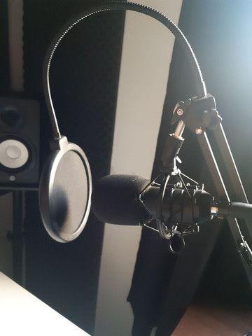 Microfone Condensador BM800 + Braço aranha  - Foto 3