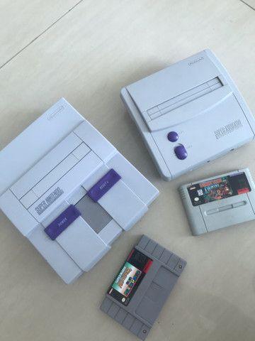 Super Nintendo fat e baby