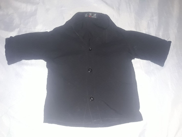 Blusas social veste ate 1 ano de idade masculina  - Foto 2