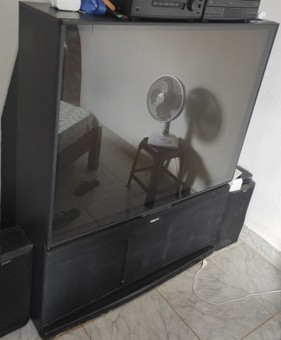 Vendo Tv Projetor Philips