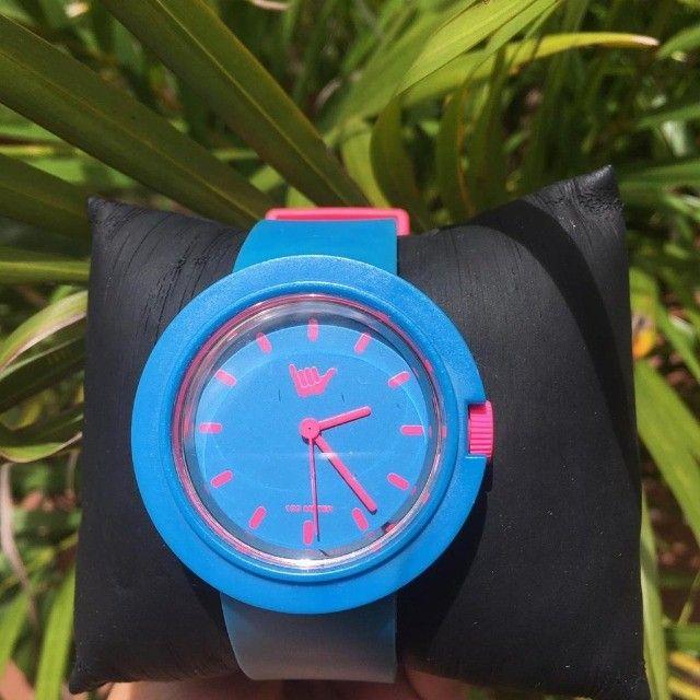 Relógio Feminino Hang Loose - Baby Doll Blue - Foto 5