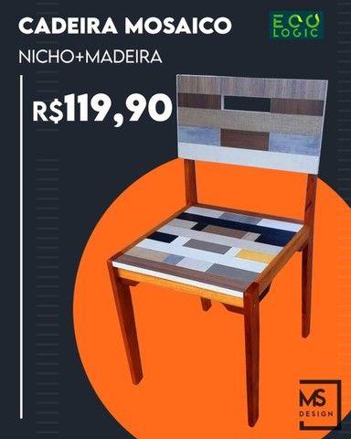 Vendo Cadeira - Mosaico - Frete Grátis
