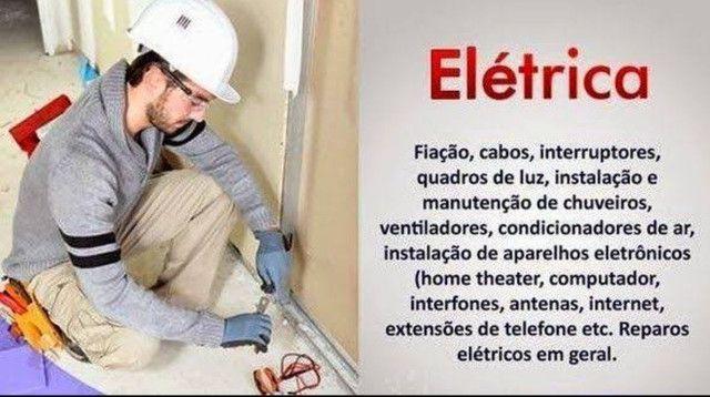ELÉTRICISTA PROFISSIONAL - Instalação e manutenção em serviços eletricos - Foto 5