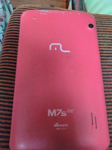 tablet Multilaser  usei muito pouco quero vender pois não uso  - Foto 2