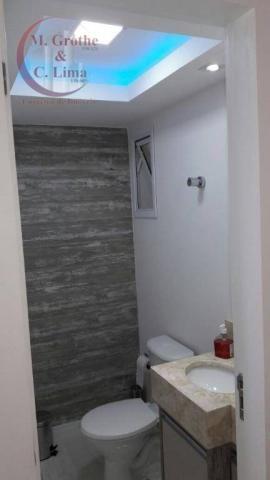 Oportunidade apartamento mobiliado de 122 m² e 4 dormitórios no splendor garden jardim das - Foto 11
