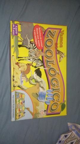 Quebra-Cabeças de zoológico completo