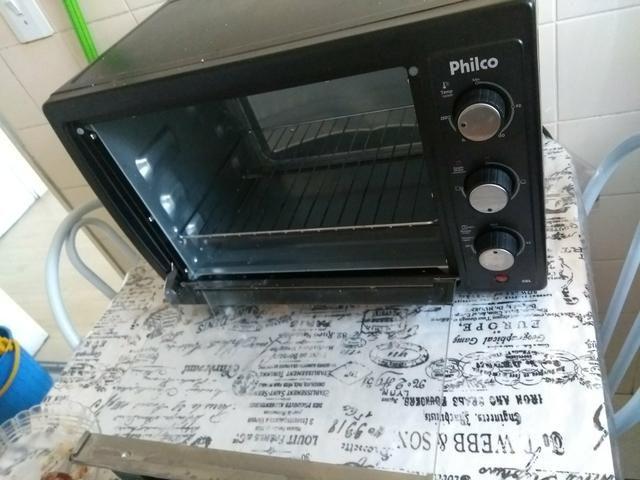 Troco forno eletrico uma semana de uso por um ar condicionado