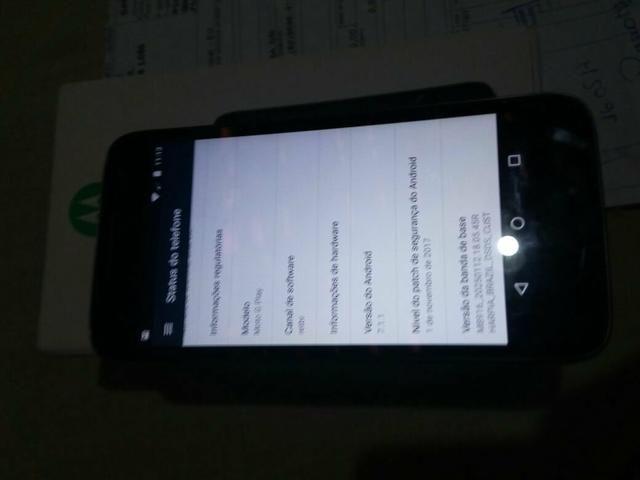 Vendo Moto G4 Play Semi novo