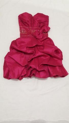 Vestido ROSA PINK 15 ANOS