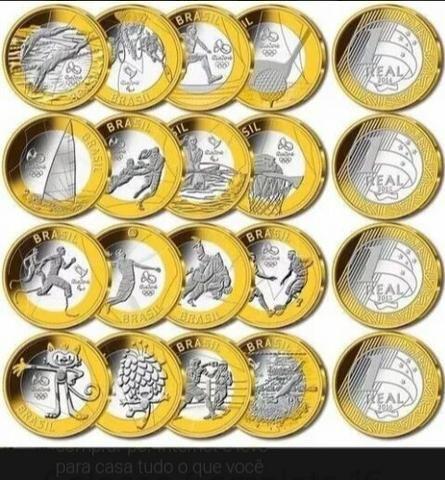 Tenho moedas da copa do ano passado pra colecionadores