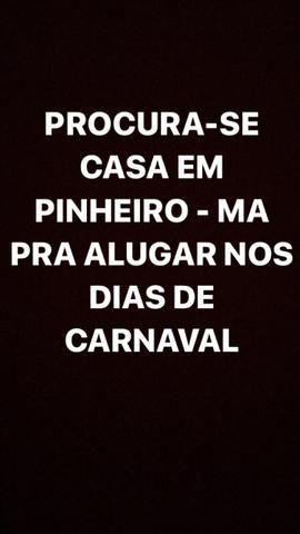 Pinheiro. Procura-se Ap ou Kitnet(Carnaval)