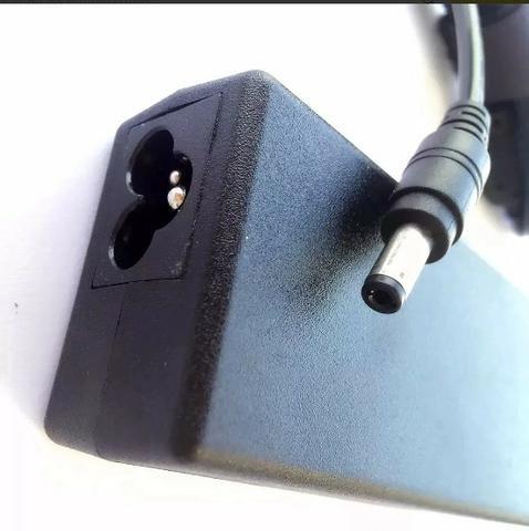 (NOVO) Fonte Carregador Notebook Positivo Cce Toshiba Asus 19v 3,42a - Foto 2