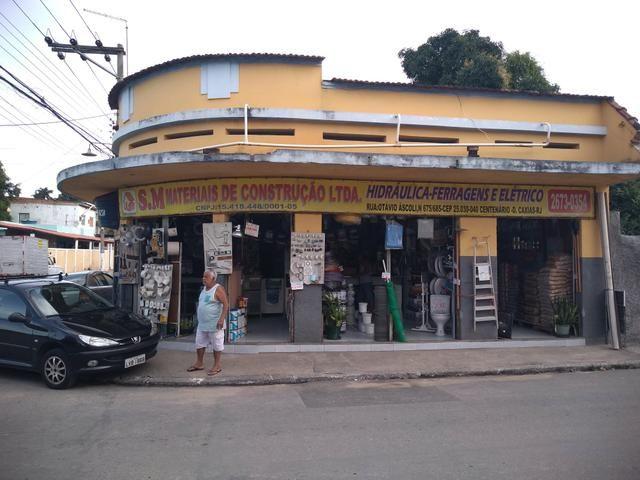 Excelente loja com terreno e ponto comercial em Duque de Caxias