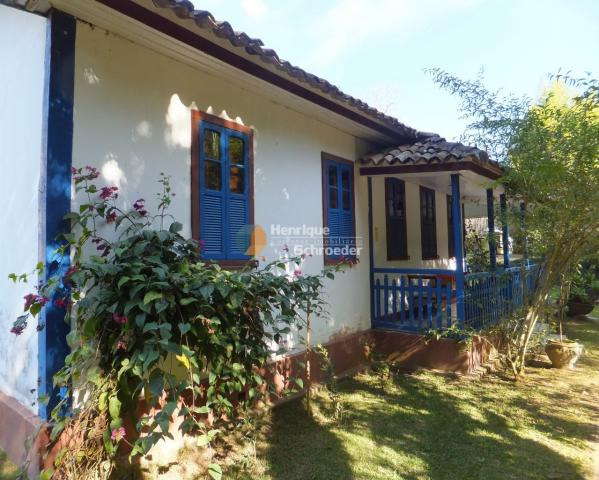 Sítio-haras c/ 9 casas, riacho, lago, piscina, futebol, sauna, br116 - próximo a teresópol - Foto 11