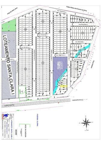 Terreno L06 no Loteamento Santa Clara II - 126 m² - Cupira/PE - Foto 4